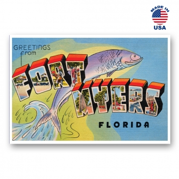 Greetings from Fort Lauderdale, Florida Set of 20