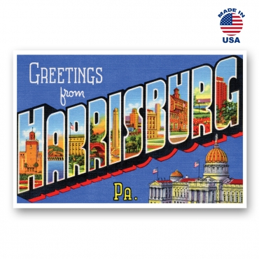 Greetings from Gettysburg, Pennsylvania Set of 20