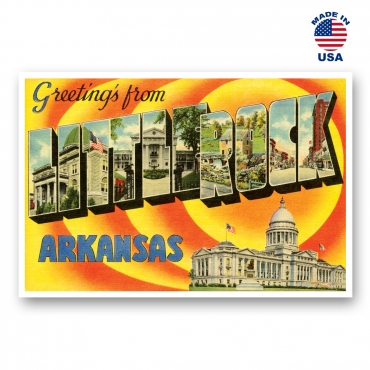 Greetings from Jacksonville, Florida Set of 20