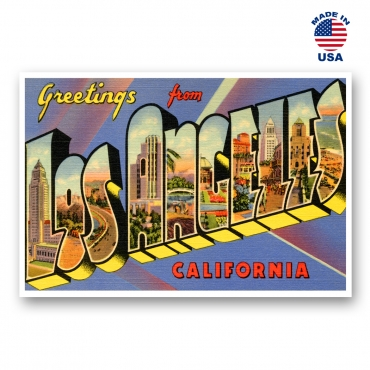 Greetings from Los Angeles, California Set of 20