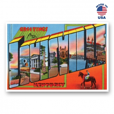 Greetings from Louisville, Kentucky Set of 20