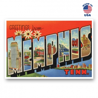 Greetings from Memphis, Tennessee Set of 20