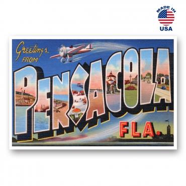 Greetings from Pensacola, Florida Set of 20