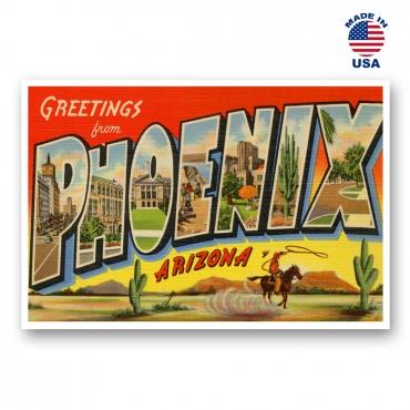 Greetings from Phoenix, Arizona Set of 20