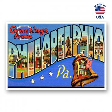 Greetings from Philadelphia, Pennsylvania Set of 20