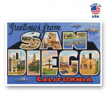 Greetings from Sacramento, California Set of 20