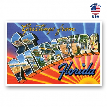 Greetings from St. Petersburg, Florida.jpg Set of 20
