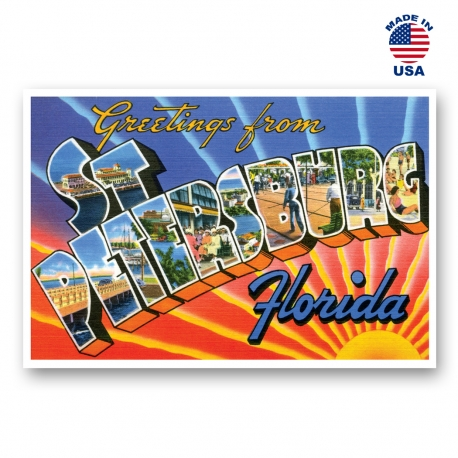 Greetings from Seattle, Washington Set of 20