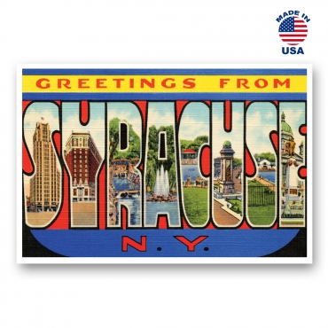 Greetings from Syracuse, New York Set of 20