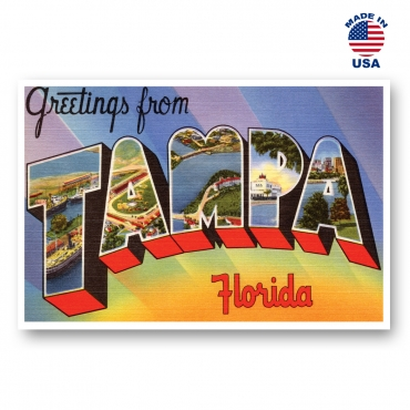Greetings from Tampa, Florida Set of 20
