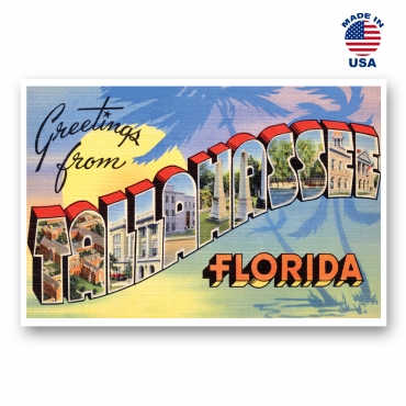 Greetings from Tallahassee, Florida Set of 20