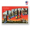 Greetings from Trenton, New Jersey Set of 20
