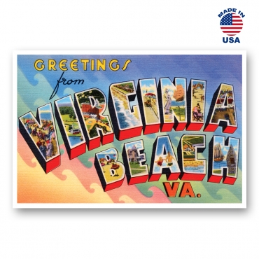 Greetings from Virginia Beach, Virginia Set of 20