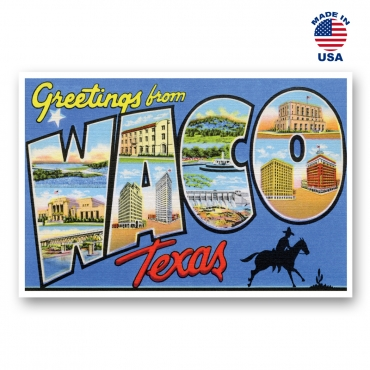 Greetings from Waco, Texas Set of 20