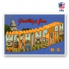 Greetings from Washington DC Set of 20