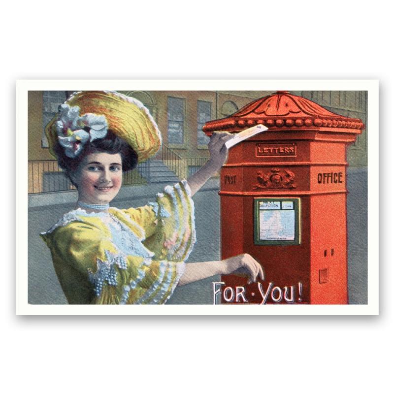 vintage reprints postcards