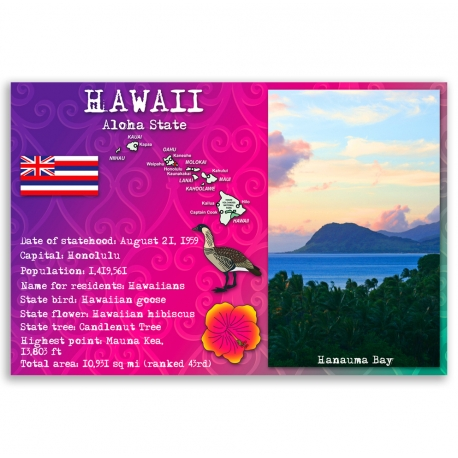 Hawaii state facts
