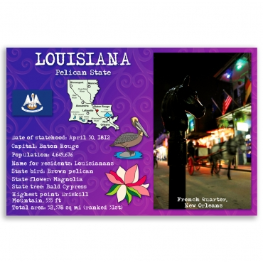 Louisiana state facts