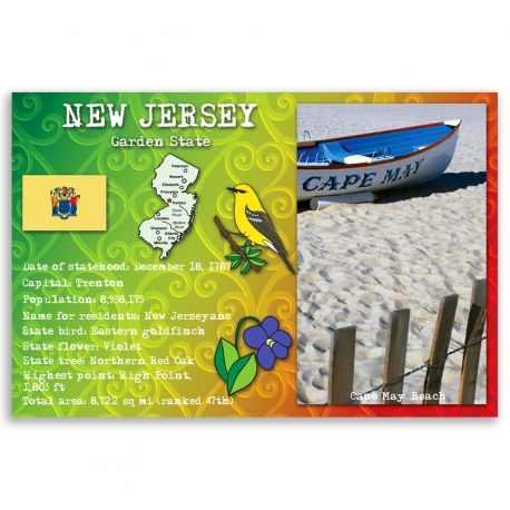New Jersey state facts