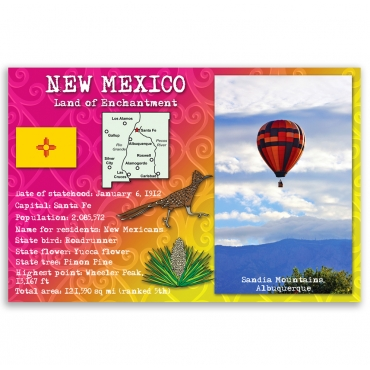 New Mexico state facts