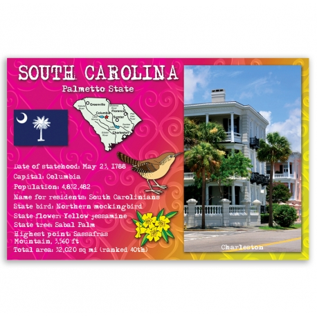 South Carolina state facts