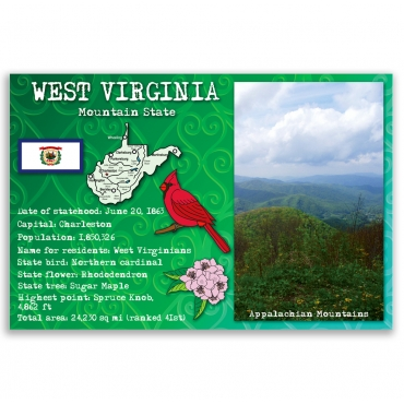West Virginia state facts