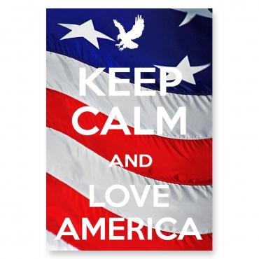 Keep Calm and Love America